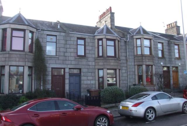 Thumbnail Terraced house to rent in Westburn Road, Aberdeen