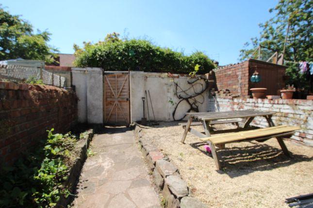 Courtyard Garden of Clift Road, Southville, Bristol BS3