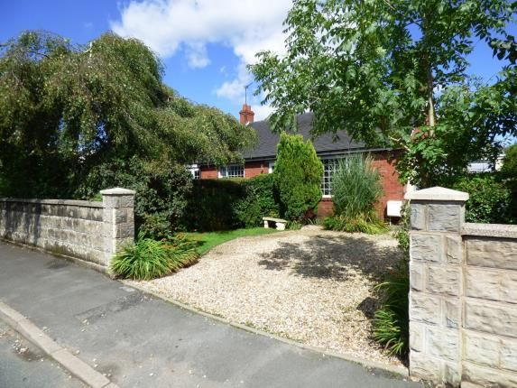 Thumbnail Bungalow for sale in Folly Lane, Cheddleton, Leek, Staffordshire