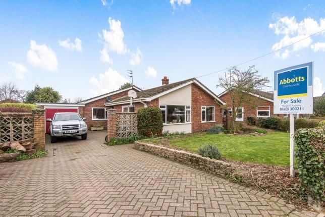 Thumbnail Bungalow for sale in Blofield Heath, Norfolk, .