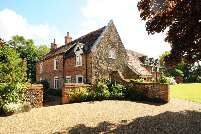 Thumbnail Detached house for sale in Church Lane, Edgefield, Melton Constable, Norfolk