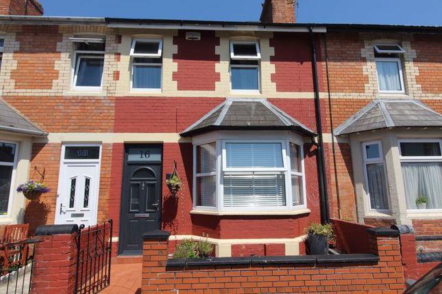 Thumbnail Terraced house for sale in Gaen Street, Barry