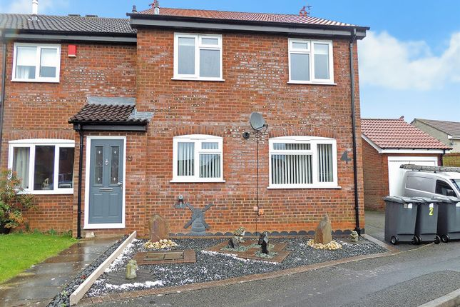 Thumbnail Terraced house to rent in Squires Court, Longwell Green, Bristol