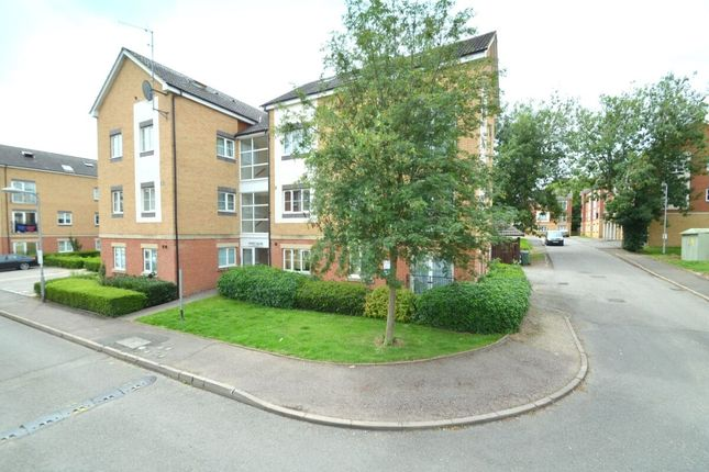 Thumbnail Flat for sale in Poppy Fields, Kettering