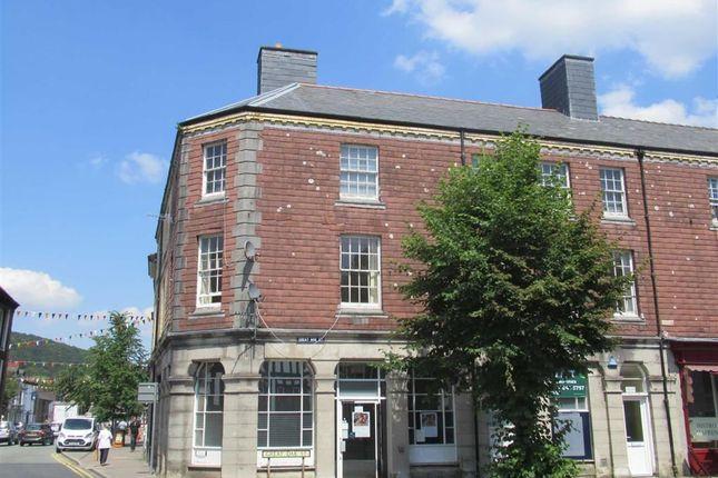 Thumbnail Flat to rent in Flat 2, 1, Great Oak Street, Llanidloes, Powys