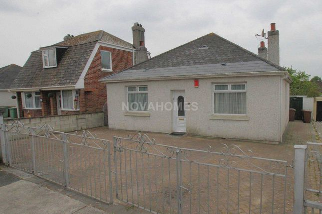 Thumbnail Detached bungalow for sale in Honicknowle Lane, Pennycross