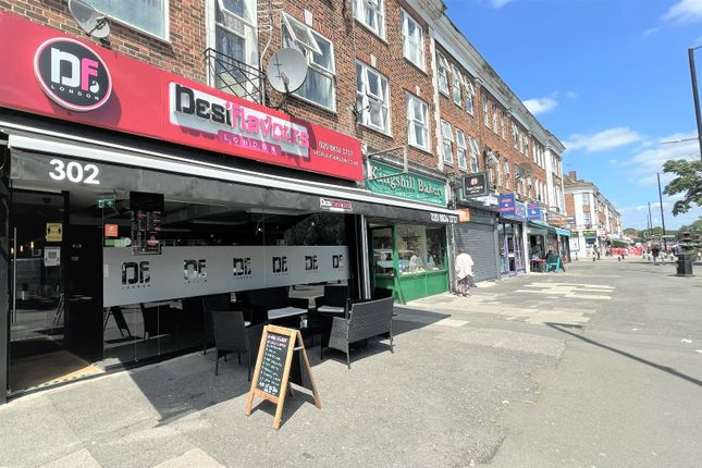 Thumbnail Restaurant/cafe for sale in Kingshill Avenue, Hayes