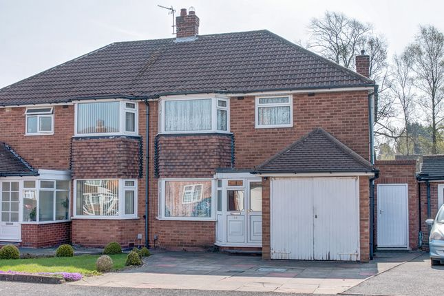 Thumbnail Semi-detached house for sale in Cambrai Drive, Hall Green, Birmingham