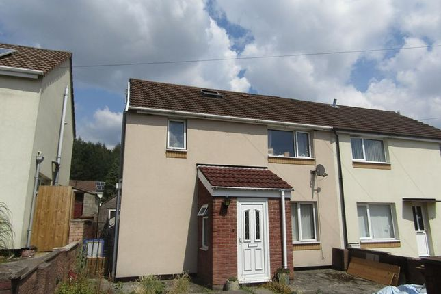 Thumbnail Semi-detached house to rent in Bryn Dolwyn, Bedwas, Caerphilly