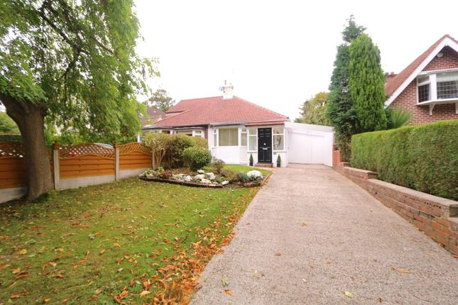 Thumbnail Bungalow for sale in Mayfield Avenue, Denton, Manchester