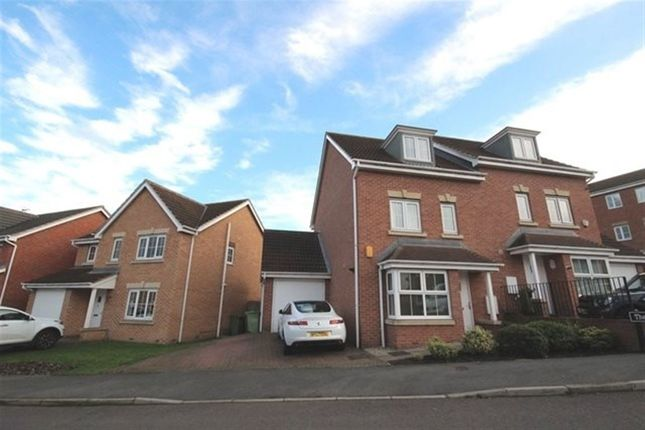 Thumbnail Semi-detached house to rent in The Wharf, Knottingley