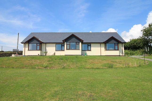 Thumbnail Detached bungalow for sale in Parkers Cross, Looe