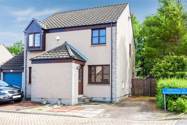 Thumbnail Semi-detached house for sale in Kingswood Road, Kingswells, Aberdeen