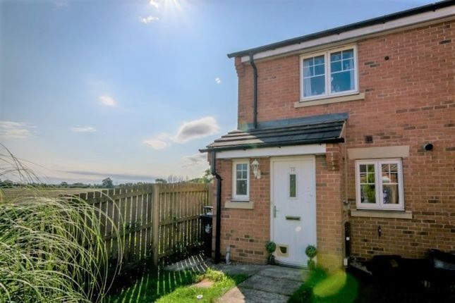 Thumbnail Semi-detached house to rent in Bridge Close, Church Fenton, Tadcaster