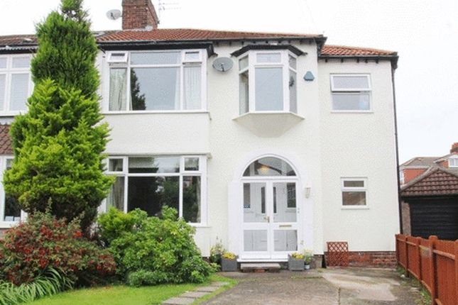 Thumbnail Semi-detached house for sale in Epping Grove, Wavertree, Liverpool