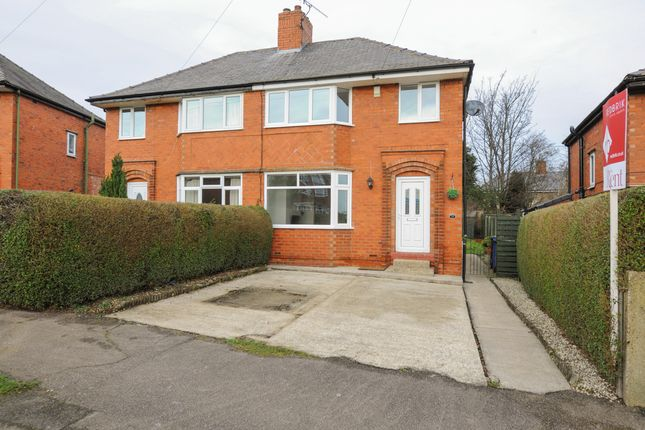 Thumbnail Semi-detached house to rent in Selhurst Road, Newbold, Chesterfield