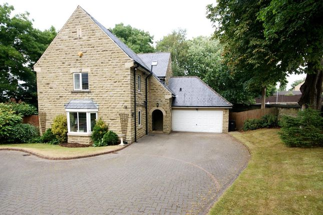 Thumbnail Detached house for sale in The Birches, Woodhouse Lane, Brighouse