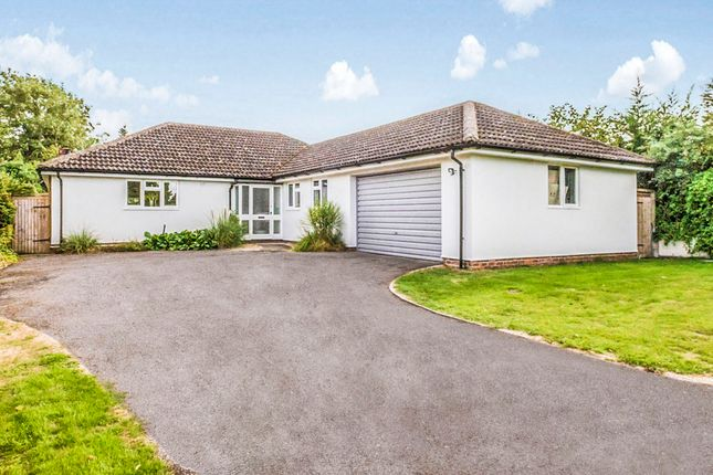 Thumbnail Detached bungalow for sale in Bridge Street, Whaddon, Royston