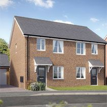 Thumbnail Semi-detached house for sale in Russell Grove, Werrington, Staffordshire