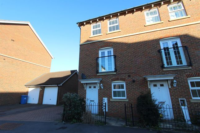 Thumbnail End terrace house to rent in Leigh Road, Sittingbourne