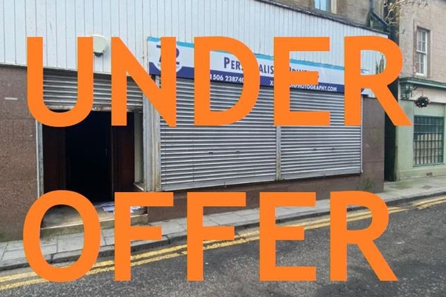 Thumbnail Retail premises for sale in South Street, Bo'ness