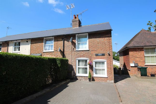 Thumbnail End terrace house for sale in Silver Hill Road, Willesborough, Ashford