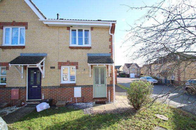 2 bed end terrace house to rent in Jasmine Way, Trowbridge, Wiltshire BA14