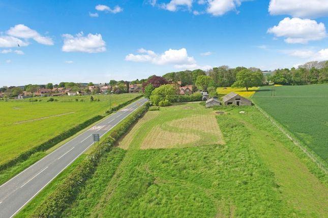 Thumbnail Land for sale in Beverley Road, Wetwang, Driffield
