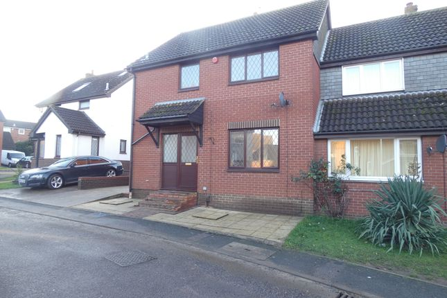 Thumbnail Semi-detached house to rent in Cannock Chase, Bedford