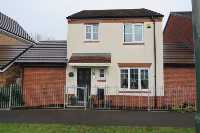 Thumbnail Link-detached house for sale in St Martins Close, Bacons End, Birmingham