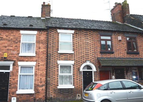 Thumbnail Terraced house to rent in Brindley Street, Newcastle, Newcastle-Under-Lyme