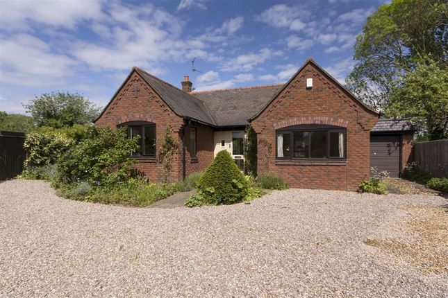 Thumbnail Detached bungalow for sale in School Lane, Braybrooke, Market Harborough