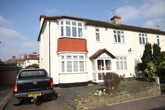 Thumbnail Semi-detached house for sale in Farnby Road, Bromley