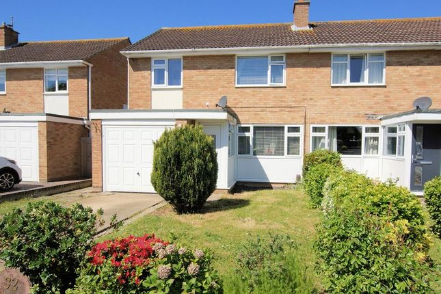 Thumbnail Semi-detached house for sale in Long Water Drive, Gosport