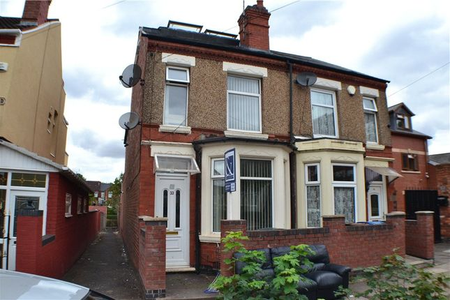 Thumbnail Semi-detached house for sale in Ena Road, Hillfields, Coventry, West Midlands