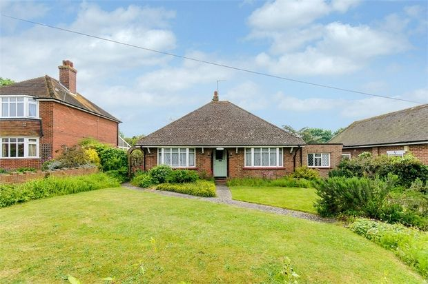 Thumbnail Detached bungalow for sale in High Street, Minster, Ramsgate