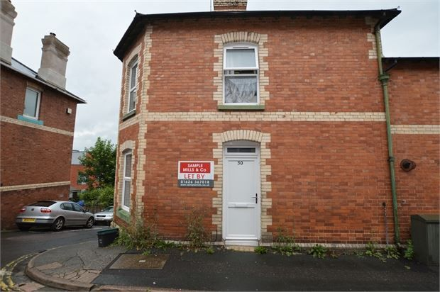Thumbnail Flat to rent in Western Road, Newton Abbot, Devon.