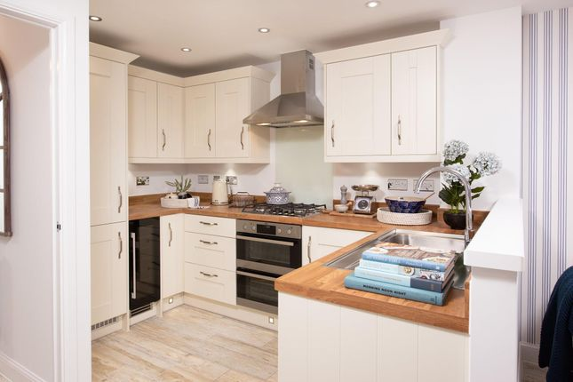 """Thumbnail Semi-detached house for sale in """"Kingsville"""" at Musselburgh Way, Bourne"""