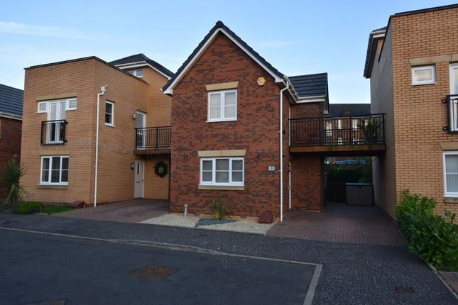 Thumbnail Detached house to rent in Grammar School Walk, Uddingston, Glasgow