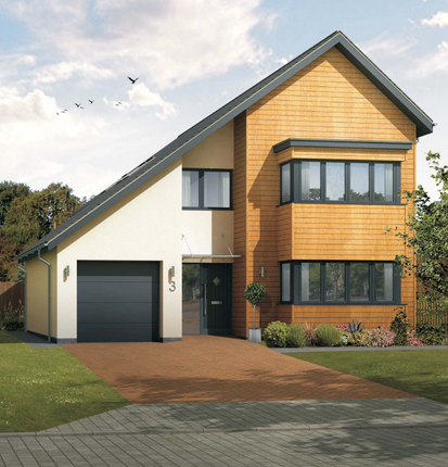 Thumbnail Detached house for sale in Evendine Mews, Colwall, Malvern, Worcestershire