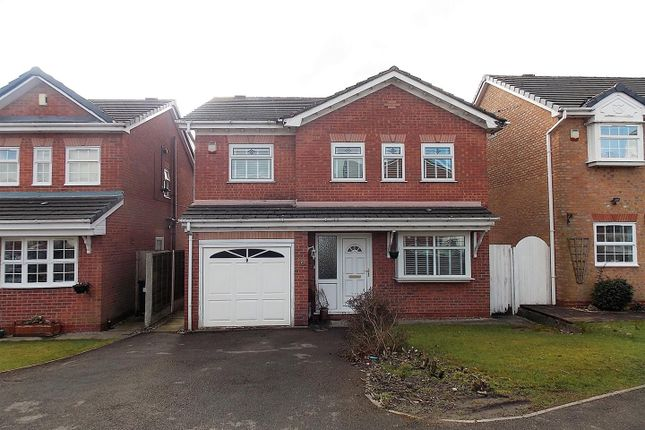 Thumbnail Detached house for sale in Sandalwood, Westhoughton, Bolton