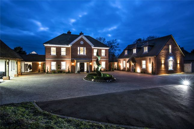 Thumbnail Detached house for sale in Hurdle Way, Compton, Winchester, Hampshire