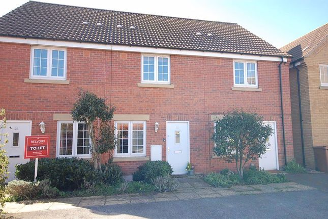Thumbnail Terraced house to rent in The Sidings, Cranwell, Sleaford