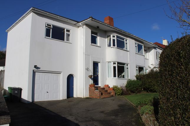 Thumbnail Semi-detached house for sale in St. Helens Down, Hastings