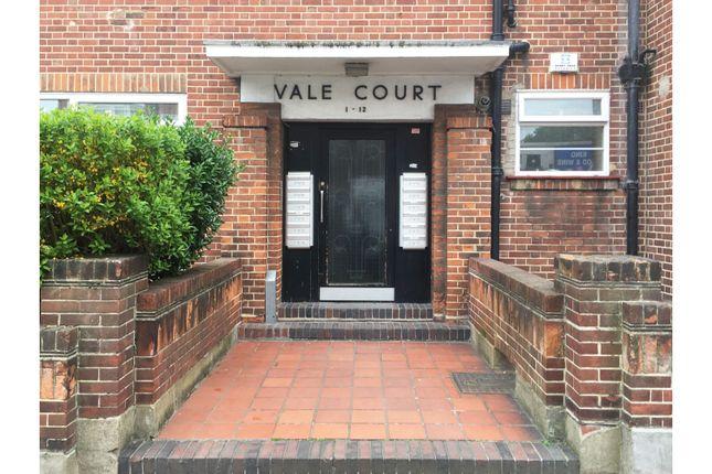 Entrance of Vale Court, Acton W3