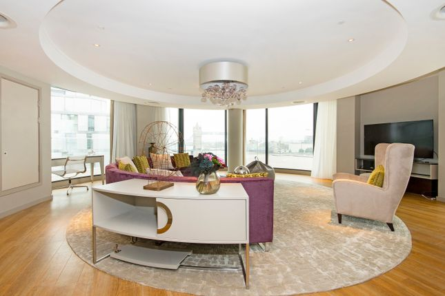 Thumbnail Flat to rent in Penthouse, Three Quays, City Of London