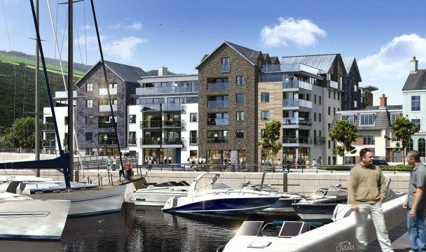 Thumbnail Flat to rent in Apartment 39, Quay West, Douglas