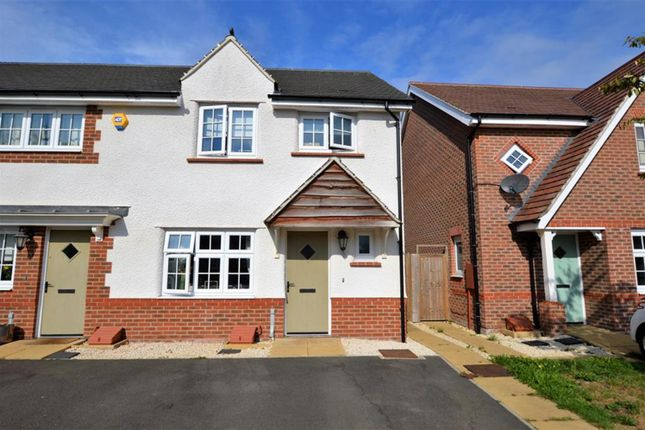 Thumbnail End terrace house for sale in Elizabeth Close, Countesthorpe, Leicester