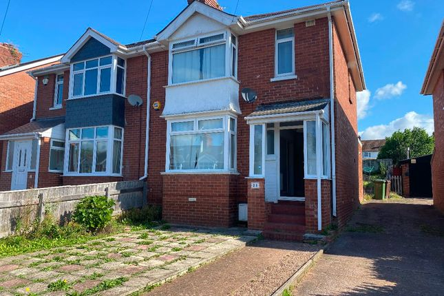 Thumbnail Semi-detached house to rent in Chard Road, Exeter