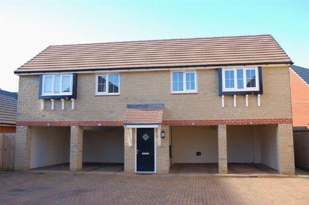 Thumbnail Flat for sale in Oak Row, Brixworth, Northampton